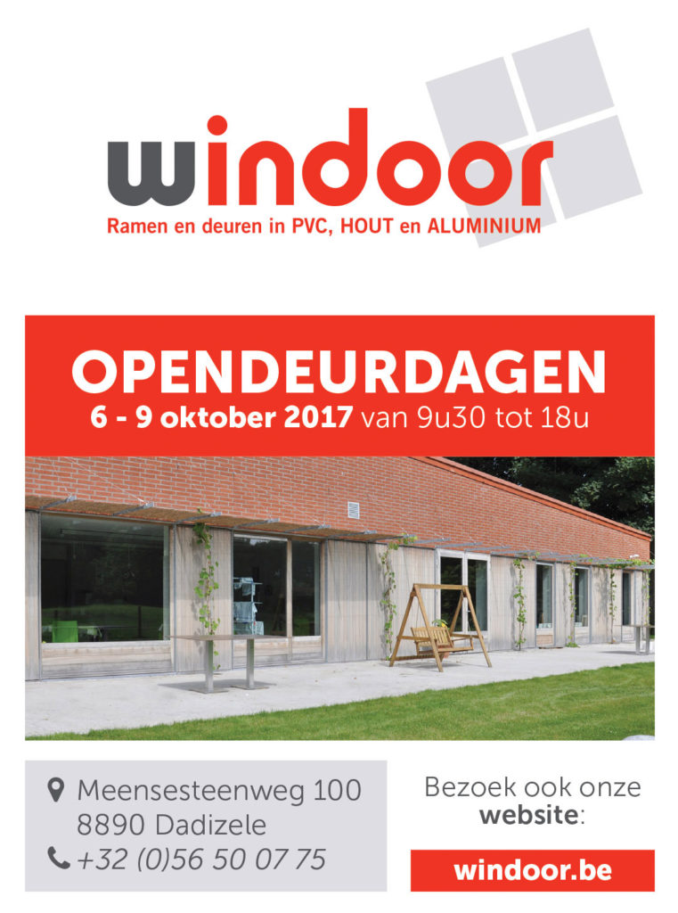 Opendeurdagen: 6 – 9 oktober 2017