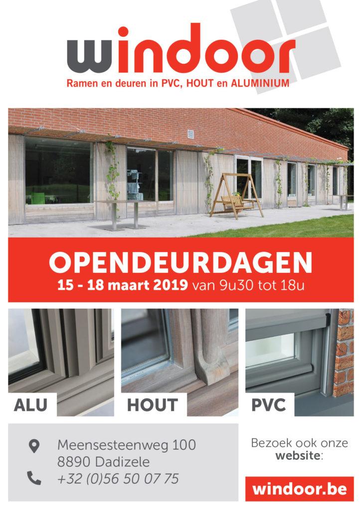 Opendeurdagen: 15 – 18 maart 2019